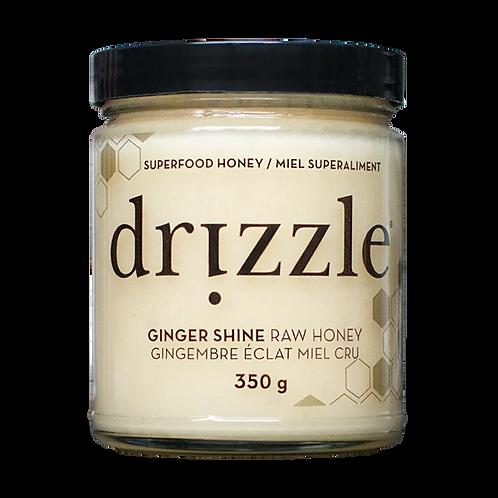 Drizzle Ginger Shine Raw Honey - Immune Boost Blend
