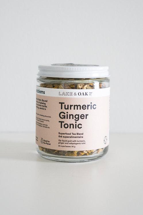 LAKE & OAK Turmeric Ginger Tonic