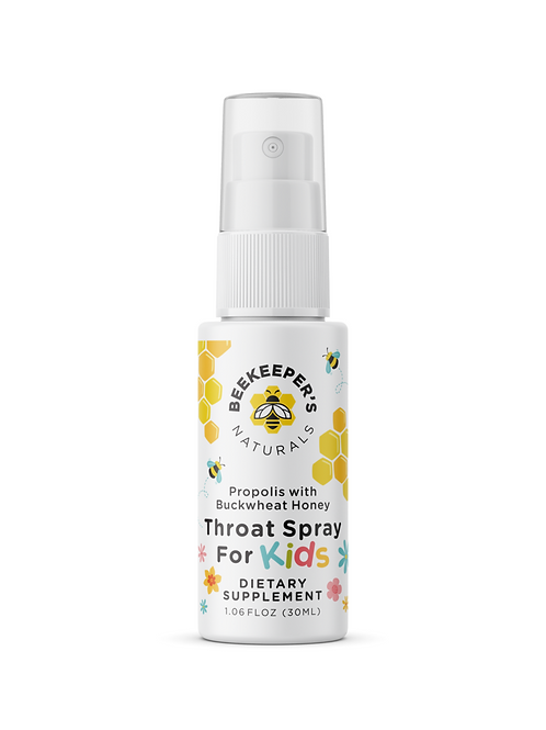 BeeKeepers Throat Spray for Kids