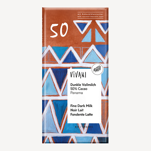 Vivani Organic Fine Dark Milk Chocolate