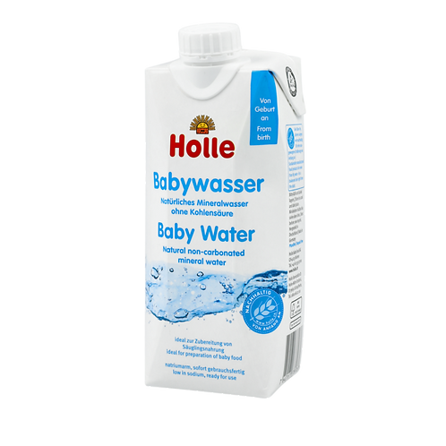Holle Baby Water - 3 bottles
