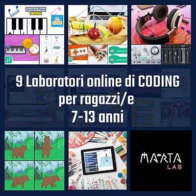 9 Laboratori Coding per ragazzi