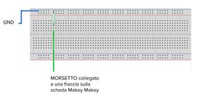 circuito makey makey semplificato