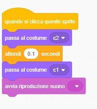Coding Scratch codice
