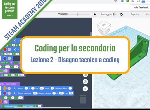 Disegno tecnico e coding