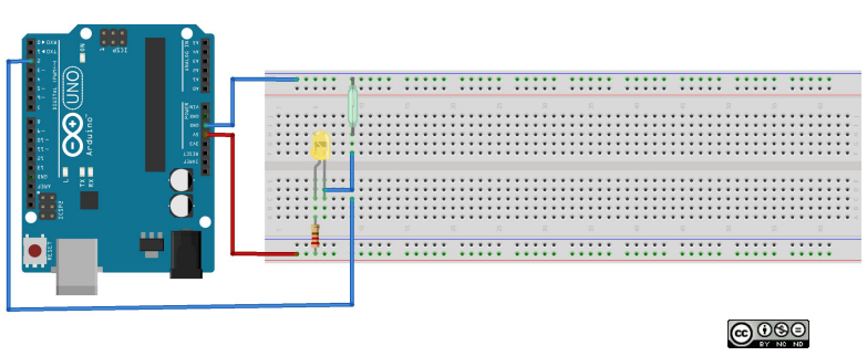 circuito arduino LED