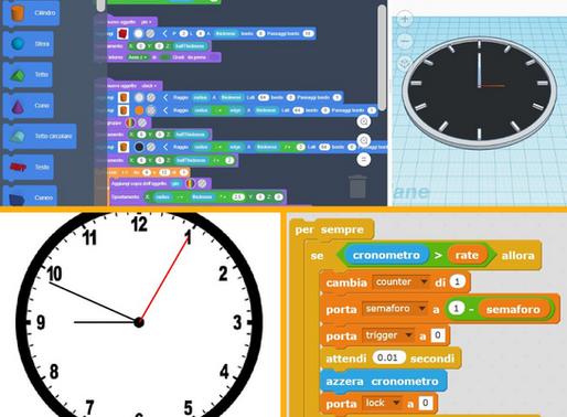 Coding e tempo: come creare un orologio