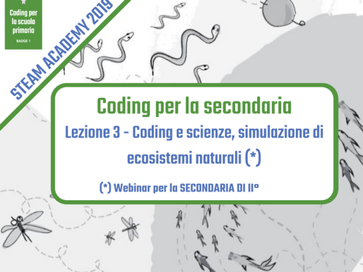 Coding e scienze: simulazione di ecosistemi naturali