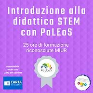 Introduzione alla didattica STEM con PaLEoS