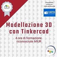 Modellazione 3D con Tinkercad