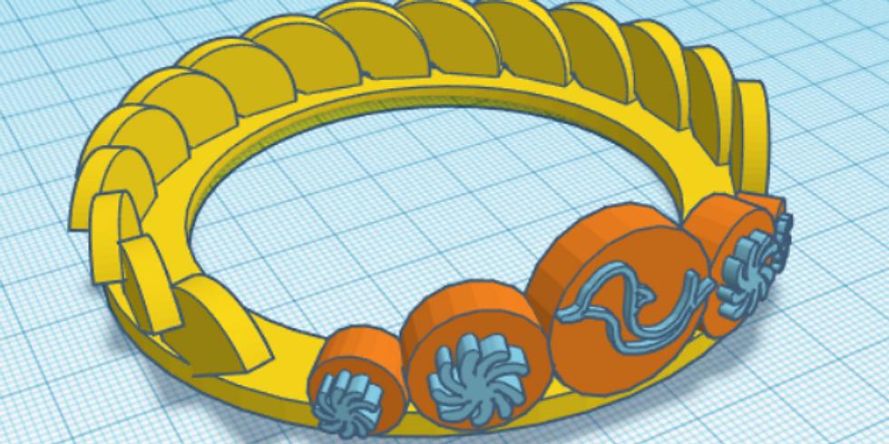 Disegna e stampa in 3D gli Ori del MArTA (edizione febbraio)