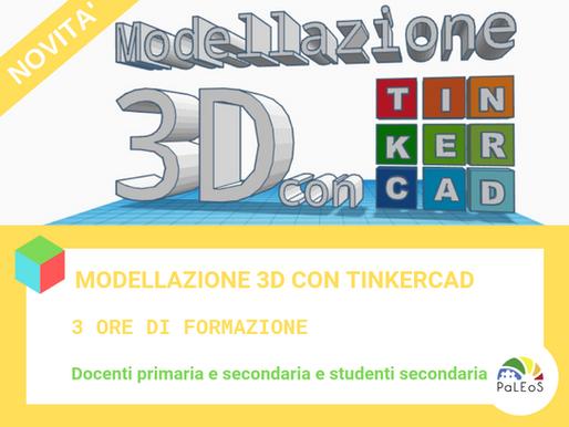 Corso: modellazione 3D con Tinkercad