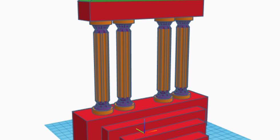 Crea un tempio greco col coding (edizione gennaio)