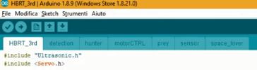 Arduino IDE HBRT librrerie