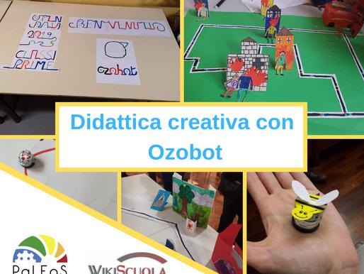 Didattica creativa con Ozobot webinar BONUS