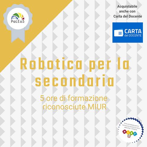 Robotica per la secondaria
