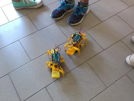 VIDEO Robotica educativa: come si muove un robot