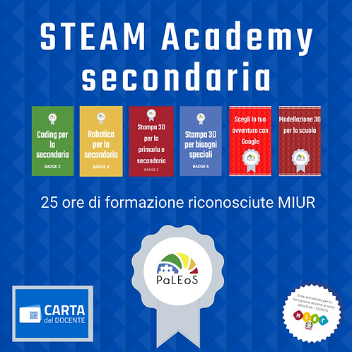 STEAM Academy secondaria PROMO