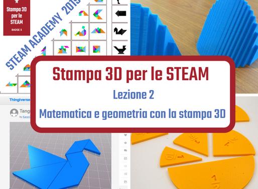 Matematica e geometria con la stampa 3D