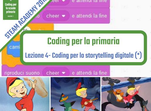 Coding per storytelling digitale