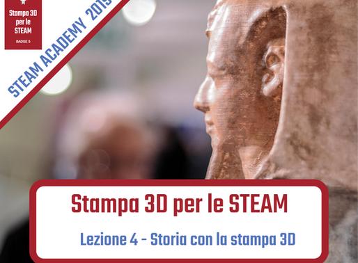 Storia con la stampa 3D STEAM Academy