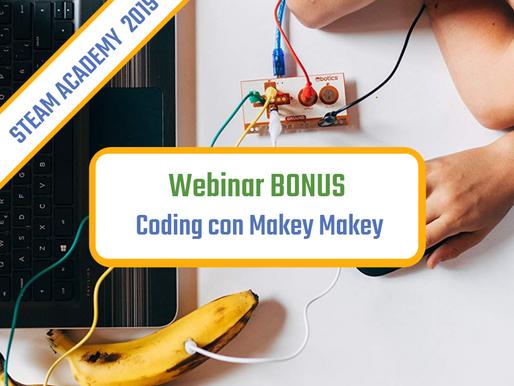 Coding con Makey Makey webinar BONUS