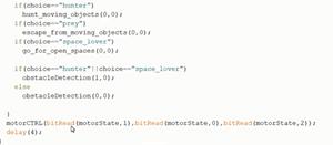 Arduino IDE HBRT codice