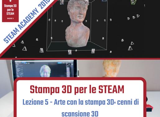 Arte con la stampa 3D: cenni di scansione 3D