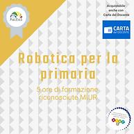 Robotica per la primaria