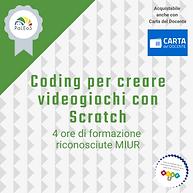 Coding per creare videogiochi con Scratch