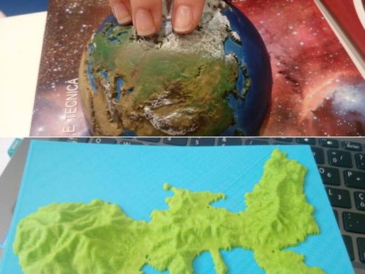 Geografia con la stampa 3D