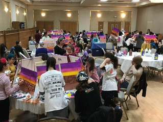 Mother/Daughter Paint Night