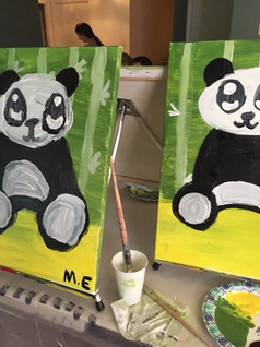 Birthday Party Pandas