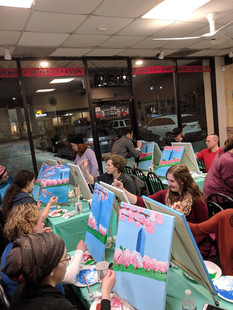 Pizza and Paint Night!