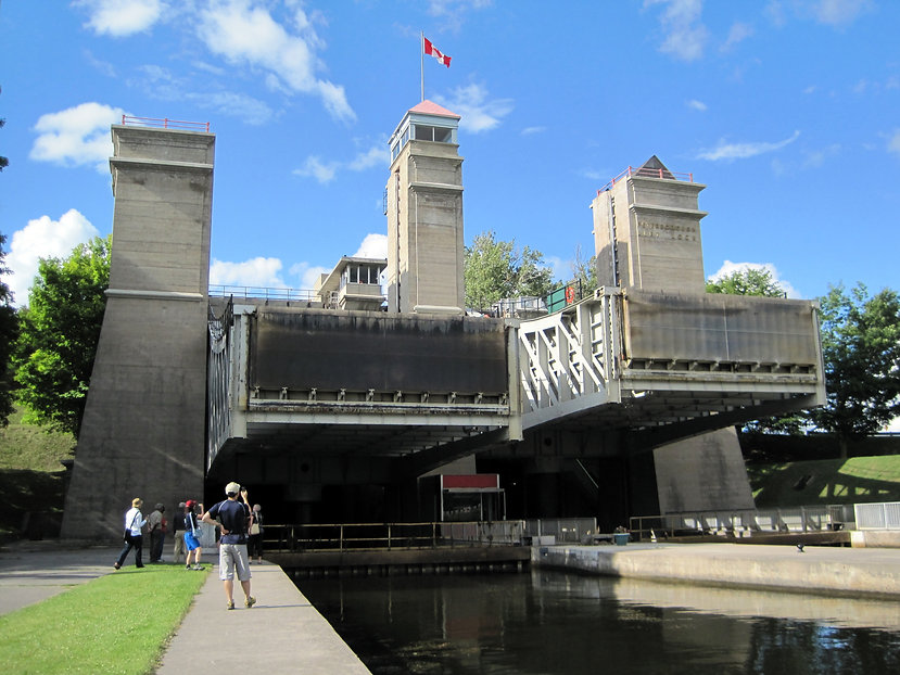 Peterborough Liftlocks