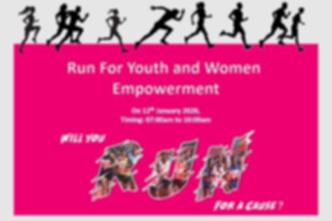 Marathon for woman and children empowerm