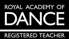 Royal Academy of Dance registered teacher logo