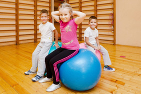 Адаптивная физкультура для ваших детей!
