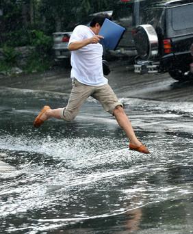 Дождь, грязь, мокрые ноги и… Последствия.