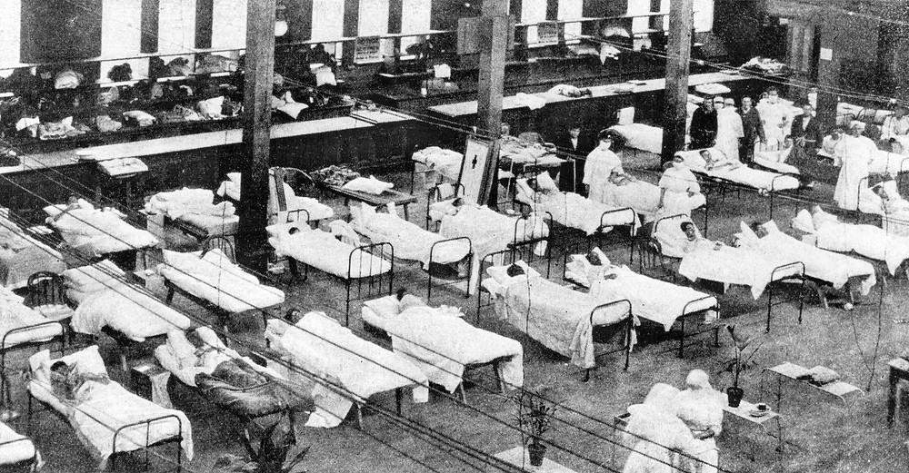 Испанский грипп в 1918 году