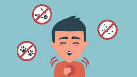 Бронхиальная астма. Симптомы и лечение.