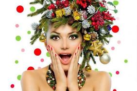 Красота быстро и просто. Подготовьте себя к новому году!