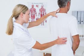 Вертеброгенная торакалгия или межреберная невралгия.