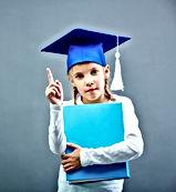 serious-schoolgirl-with-blue-graduation-