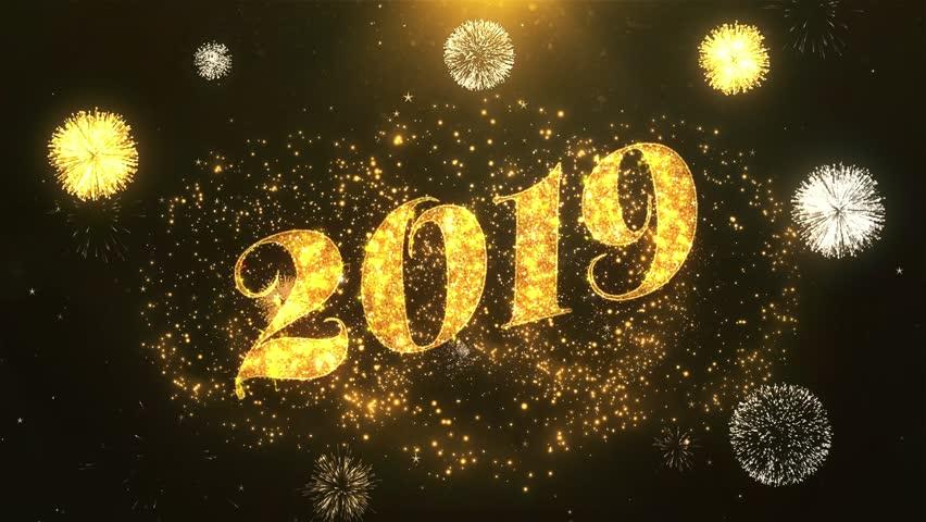 Новогодние картинки и видео 2019 года, найти открытку добрым