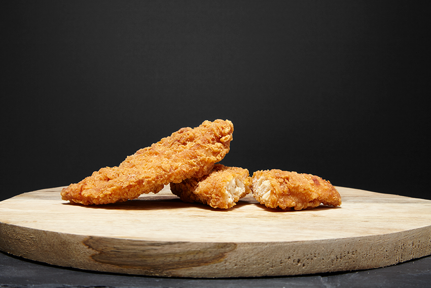 Flamin' Battered Chicken Goujons