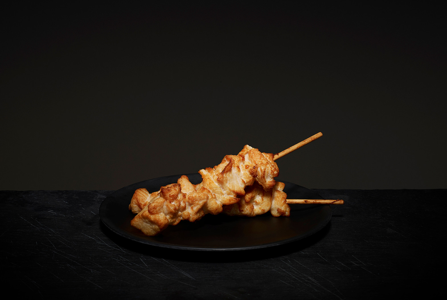 Frysteam Chicken Skewer Plain, 50, 80, 100 gram