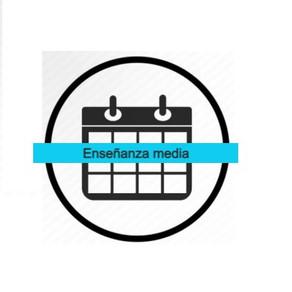 Calendario de Evaluación Enseñanza Media mes Junio