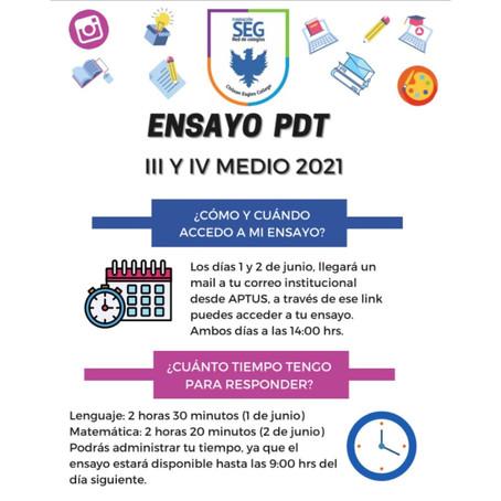 Ensayo Prueba de Transición 2021