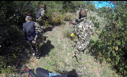 paintball costa brava bosc abrupte
